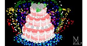 Cake drawing by hadue