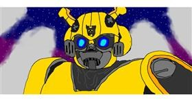 Drawing of Bumblebee by Lucario