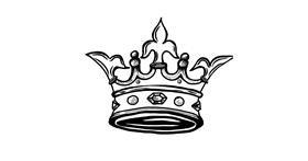 Drawing of Crown by Dussdusske