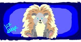 Hedgehog drawing by IceSleep