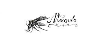 Mosquito drawing by WindPhoenix
