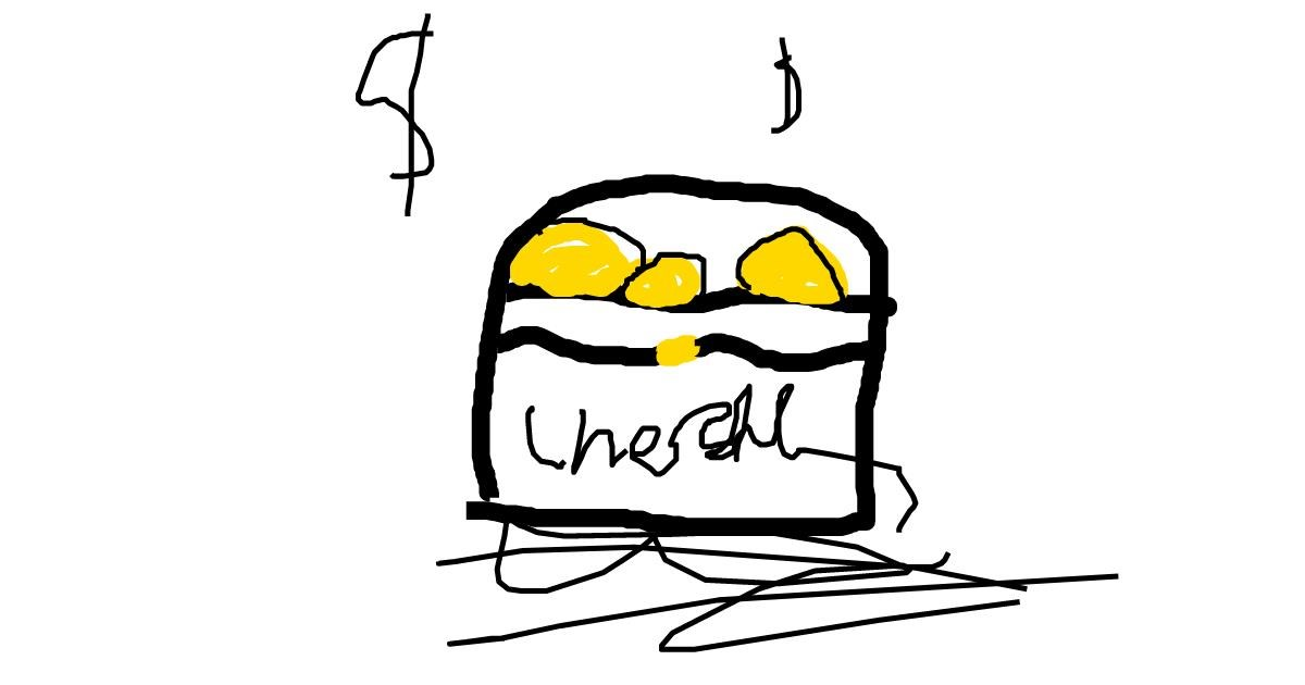 Drawing of Treasure chest by gibbo