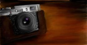 Drawing of Camera by Soaring Sunshine