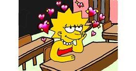 Lisa Simpson drawing by SAM AKA MARGARET 🙄