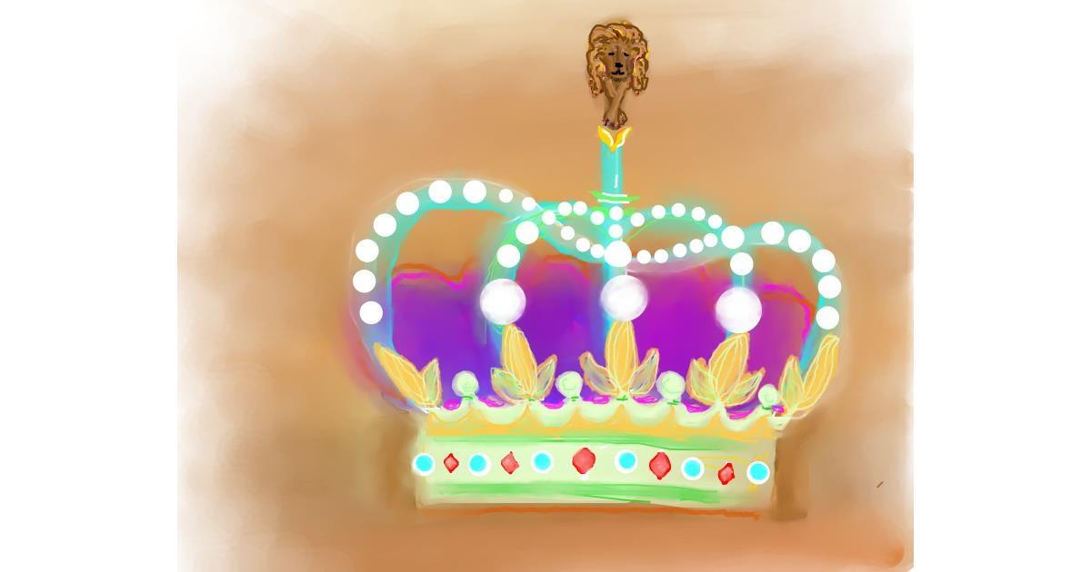 Crown drawing by Kai 🐾