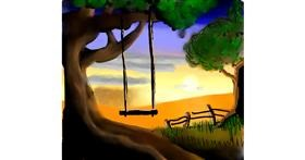 Swing drawing by Joze