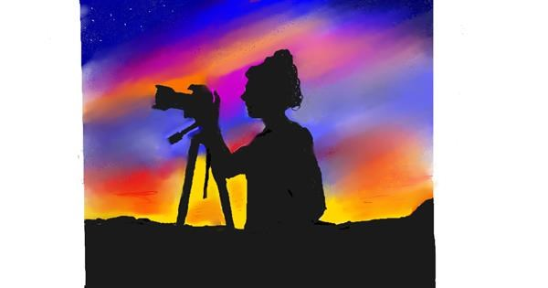 Camera drawing by GJP