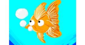 Goldfish drawing by blah