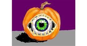Pumpkin drawing by SAM AKA MARGARET 🙄