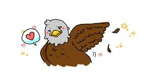 Eagle drawing by what