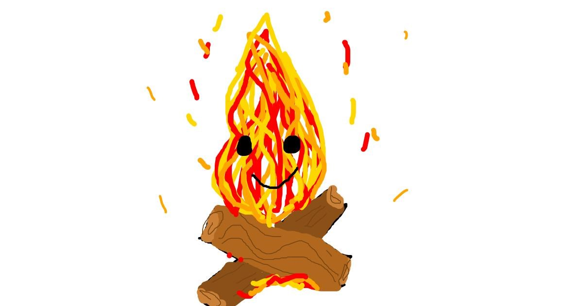 Fireplace drawing by roxy