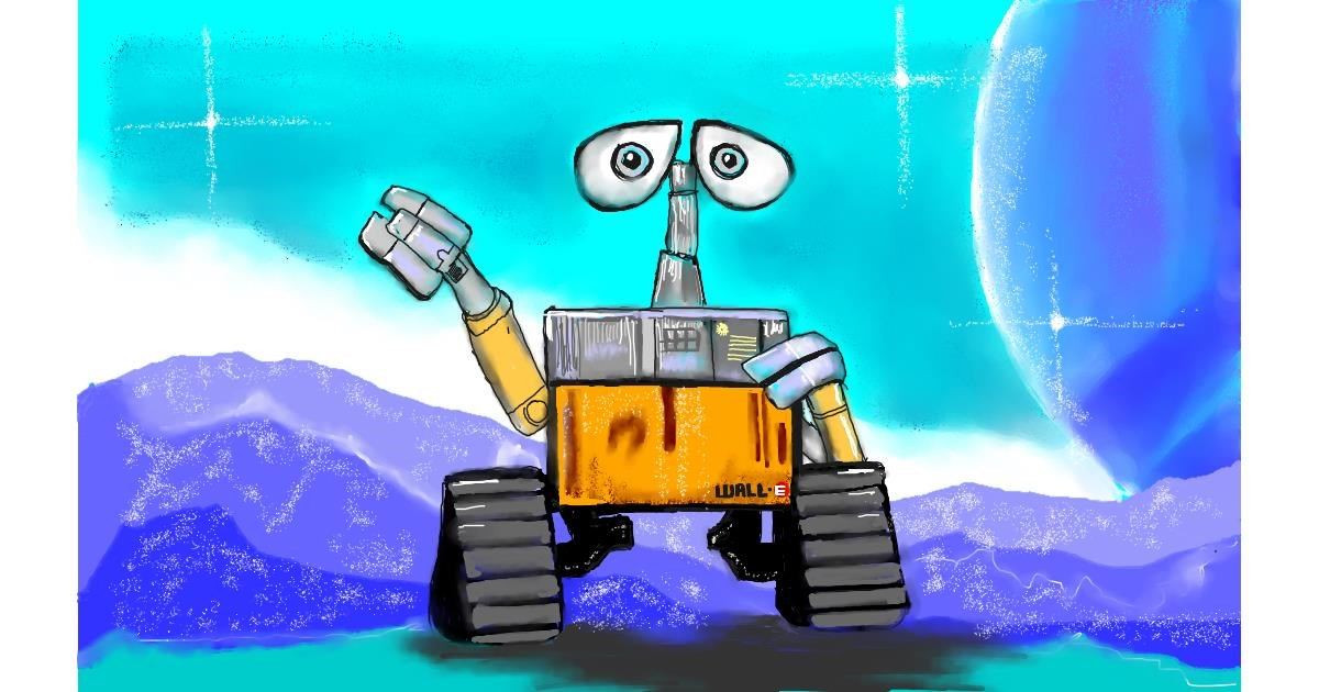 Drawing of Robot by Tim