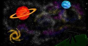 Telescope drawing by bloop