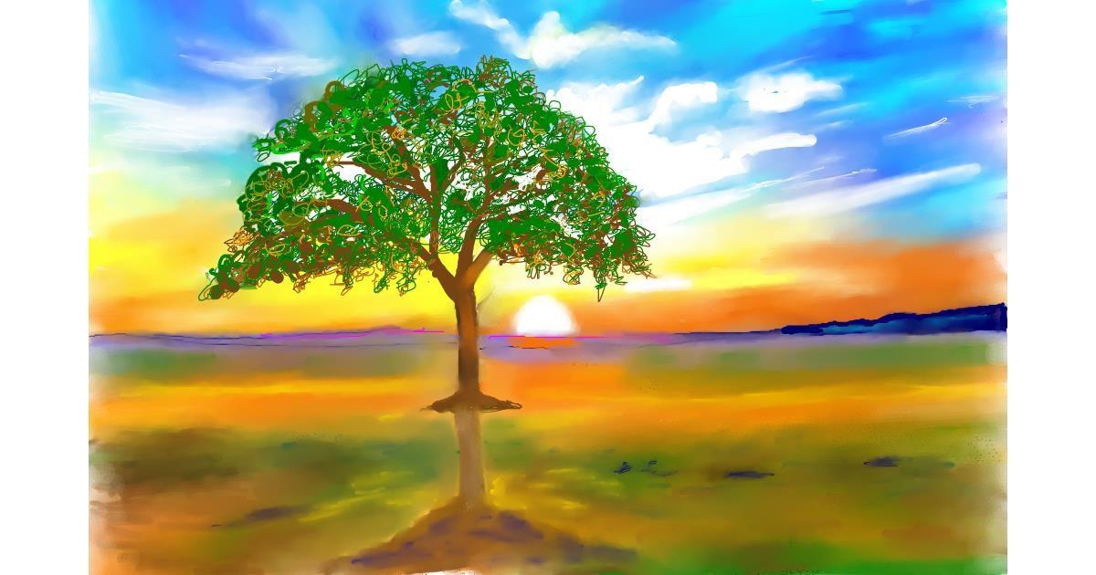 Tree drawing by GJP