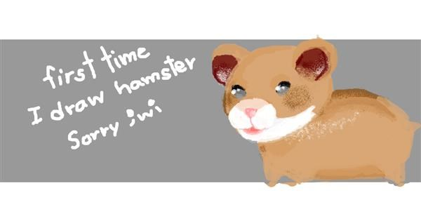 Hamster drawing by SacredCross
