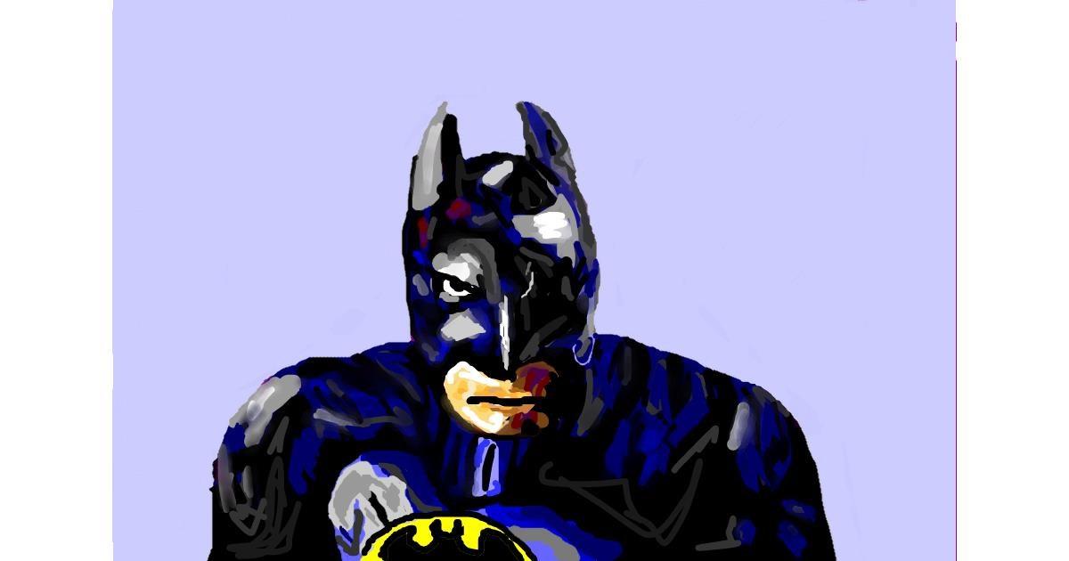 Batman drawing by Soaring Sunshine