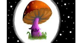 Drawing of Mushroom by Pickles