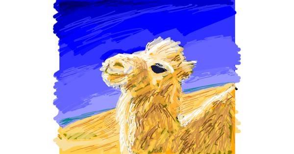 Llama drawing by shinkinoko