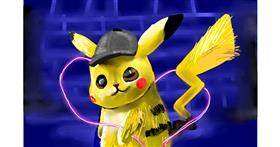 Pikachu drawing by Rose rocket