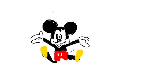 Mouse drawing by fuck