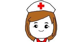 Drawing of Nurse by Unknown