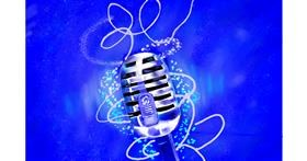 Drawing of Microphone by GJP