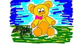 Bear drawing by hebbsie