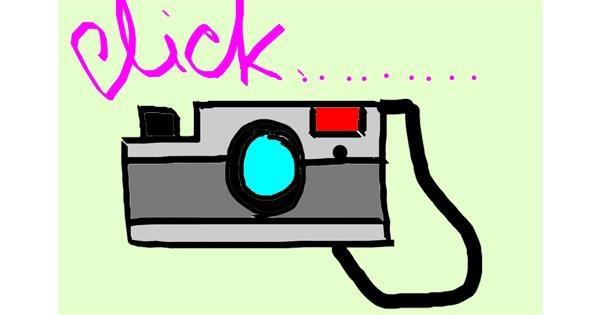 Camera drawing by Kasturi