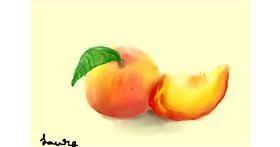 Drawing of Peach by l7o5lnam