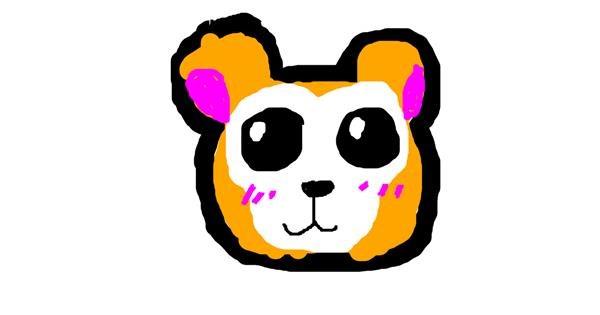 Monkey drawing by Cinnamon roll
