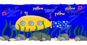 Submarine drawing by uwu