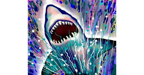 Shark drawing by Sirak Fish