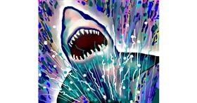 Shark drawing by Sirak Fish