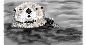 Drawing of Otter by SAM AKA MARGARET 🙄
