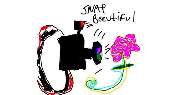Camera drawing by Lindsay