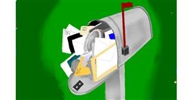 Mailbox drawing by GJP