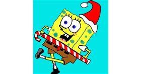 Spongebob drawing by MaRi
