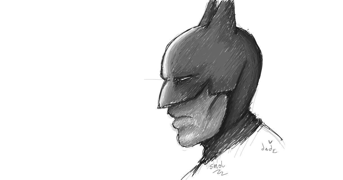 Batman drawing by smol