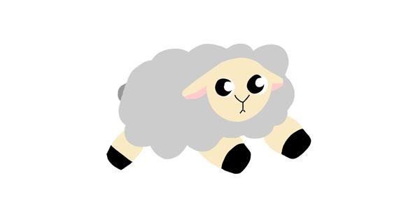 Sheep drawing by PumpkinGears