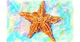 Starfish drawing by GJP