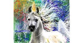 Unicorn drawing by Kai 🐾