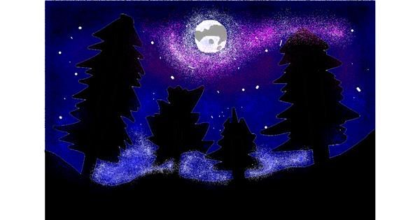 Forest drawing by 🎼Mia🎶