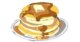 Pancakes drawing by ThasMe13
