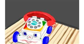 Drawing of Phone by Tim