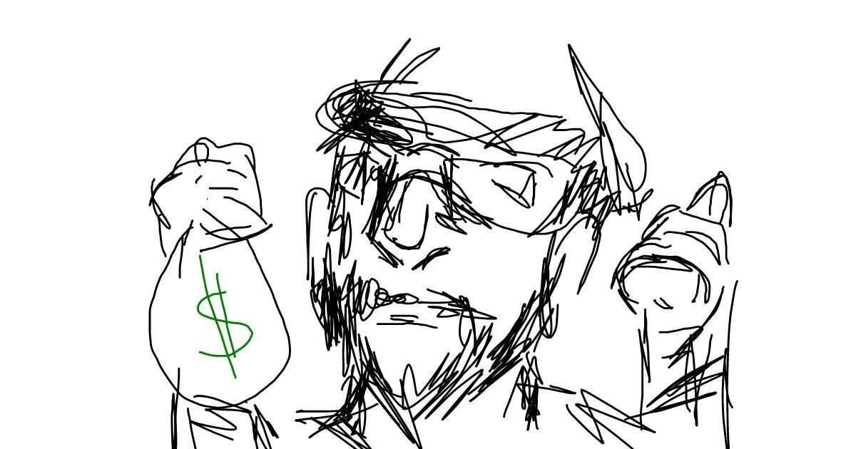 Burglar drawing by [USER_UNIDENTIFIED]