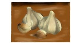 Drawing of Garlic by TODOROKI-KUN