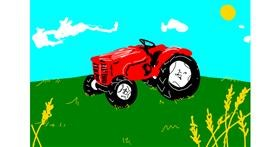 Tractor drawing by уυαкѕυ