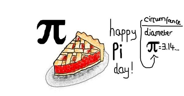 Pie drawing by coconut