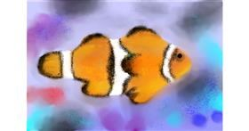 Drawing of Clownfish by Nero