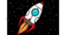Rocket drawing by ThasMe13